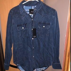 Rails Button down denim shirt